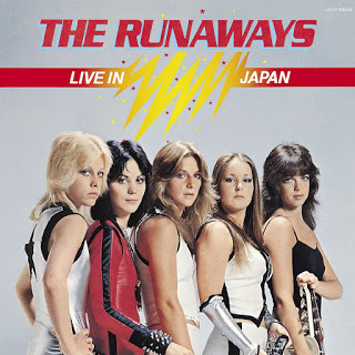 THE RUNAWAYS - Live in Japan cover