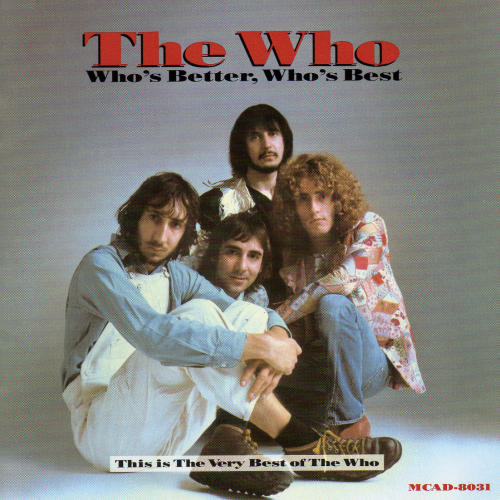 THE WHO - Who's Better, Who's Best cover