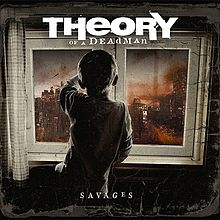 THEORY OF A DEADMAN - Savages cover