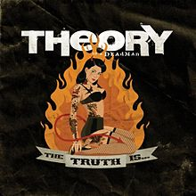 THEORY OF A DEADMAN - The Truth Is... cover