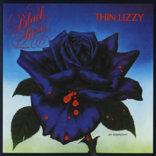 THIN LIZZY - Black Rose: A Rock Legend cover
