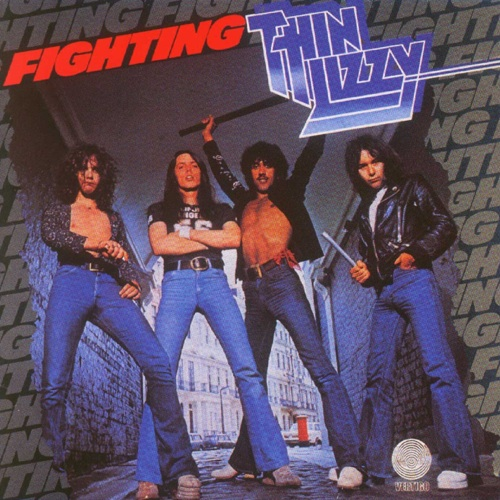 THIN LIZZY - Fighting cover