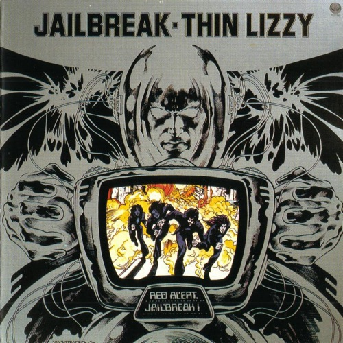 THIN LIZZY - Jailbreak cover