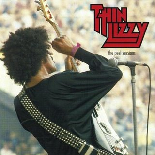 THIN LIZZY - The Peel Sessions cover