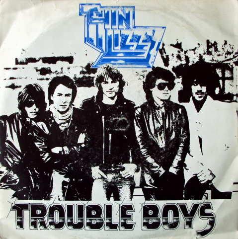 THIN LIZZY - Trouble Boys cover