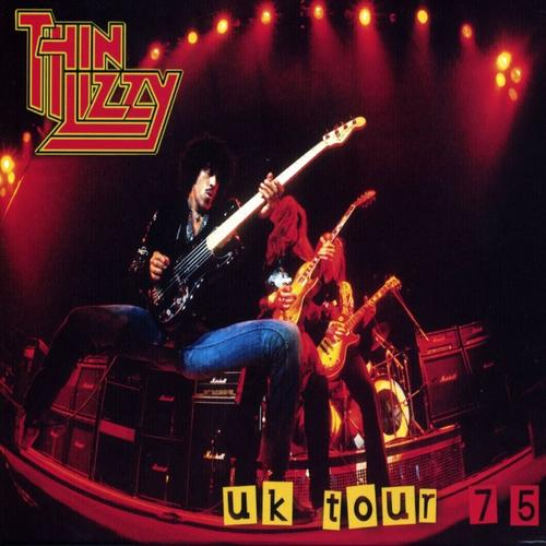 THIN LIZZY - UK Tour '75 cover