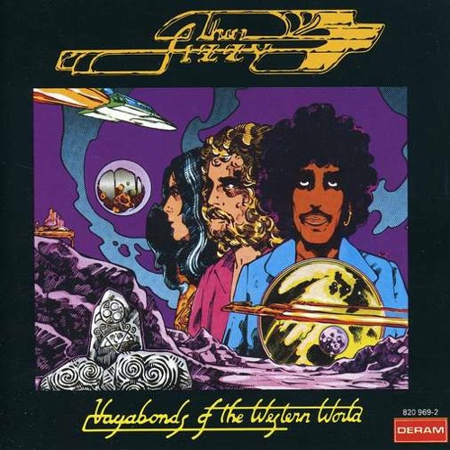 THIN LIZZY - Vagabonds Of The Western World cover