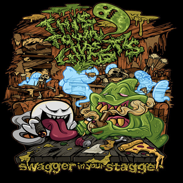 THIS TOWN HAS GHOSTS - Swagger In Your Stagger cover