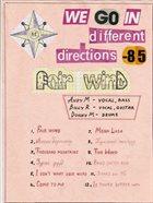 АЯСЫН САЛХИ We Go in Different Directions album cover