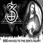 3 666 Knives to the Son's Heart album cover
