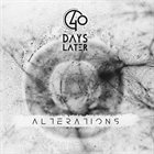 40 DAYS LATER Alterations album cover