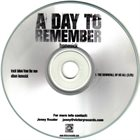 A DAY TO REMEMBER The Downfall Of Us All album cover