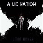 A LIE NATION Human Waves album cover