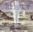 ABDUNOR Whispers in Nameless Forms album cover