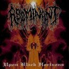 ABOMINANT Upon Black Horizons album cover