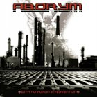 ABORYM With No Human Intervention album cover