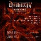 ACRIMONY INC. Promo CD II album cover