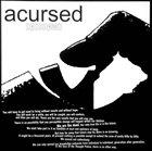 ACURSED Dødsdømd / Another Week In Jonestown album cover