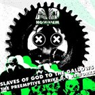 AD HOMINEM Slaves of God to the Gallows (The Preemptive Strike 0.1 Reworks) album cover