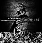 AD HOMINEM Treaty of Alliance (Agony of a Dying Race) album cover