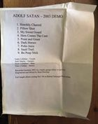 ADOLF SATAN 2003 Demo album cover