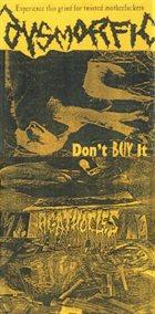 AGATHOCLES Agathocles / Dysmorfic album cover