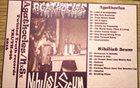AGATHOCLES Agathocles / Nihilist Scum album cover