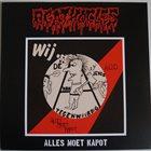 AGATHOCLES Alles Moet Kapot / Untitled album cover