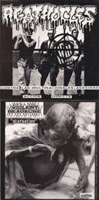 AGATHOCLES Contra las Multinacionales Asesinas Acción Directa / Starvation album cover