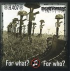 AGATHOCLES For What? For Who? album cover