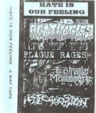 AGATHOCLES Hate Is Our Feeling 4 Way Tape album cover