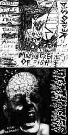 AGATHOCLES Massacre of Fish / Total Braindead album cover