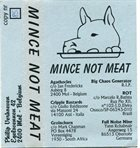 AGATHOCLES Mince Not Meat album cover