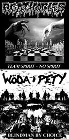 AGATHOCLES Team Spirit - No Spirit / Blindman by Choice album cover