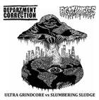 AGATHOCLES Ultra Grindcore vs. Slumbering Sludge album cover