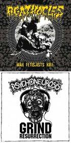 AGATHOCLES War Fetisjists Kill / Grind Resurrection album cover