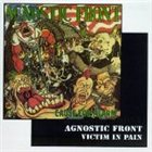 AGNOSTIC FRONT Cause for Alarm / Victim in Pain album cover
