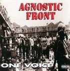 AGNOSTIC FRONT One Voice album cover
