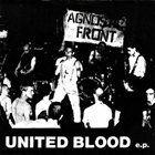 AGNOSTIC FRONT United Blood EP album cover