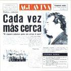 AGUAVIVA Cada vez más cerca album cover