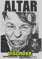 ALTAR Live Disorder: Hunting Shotguns & Outrageous Rites album cover