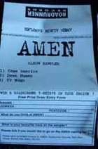 AMEN Amen Album Sampler album cover