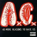 ANAL CUNT 40 More Reasons to Hate Us album cover