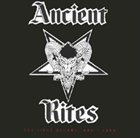 ANCIENT RITES The First Decade 1989 - 1999 album cover