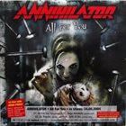 ANNIHILATOR All for You / Faces / Out to Every Nation album cover