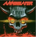 ANNIHILATOR Double Live Annihilation album cover