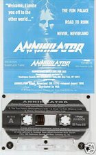 ANNIHILATOR Never, Neverland (Promo) album cover