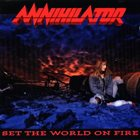 ANNIHILATOR Set the World on Fire album cover