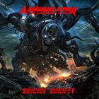 ANNIHILATOR Suicide Society album cover