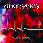 ANONYMUS Ni vu, ni connu album cover